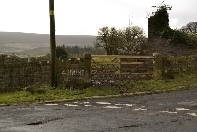 Strines … It's This Way, Upper Midhope, near Stocksbridge - 1