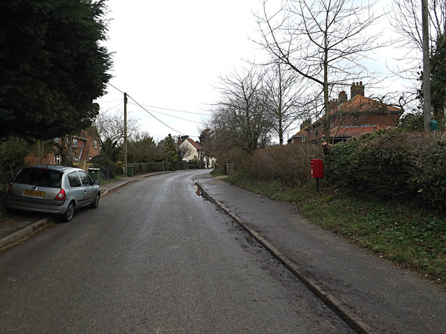 Brooke Road & The Street South End Postbox