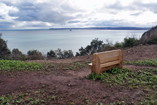 New seat for the Coast Path
