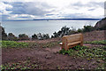 SX9262 : New seat for the Coast Path by Richard Dorrell