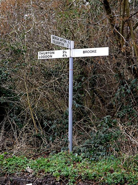 Roadsign on Welbeck Road