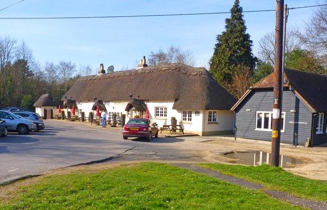 Sir John Barleycorn pub, Cadnam