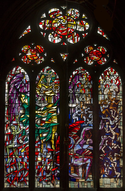 Catlin Window, St Wulfram's church, Grantham