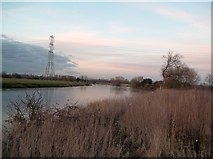 SK3527 : The River Trent near Ingleby by Jonathan Clitheroe