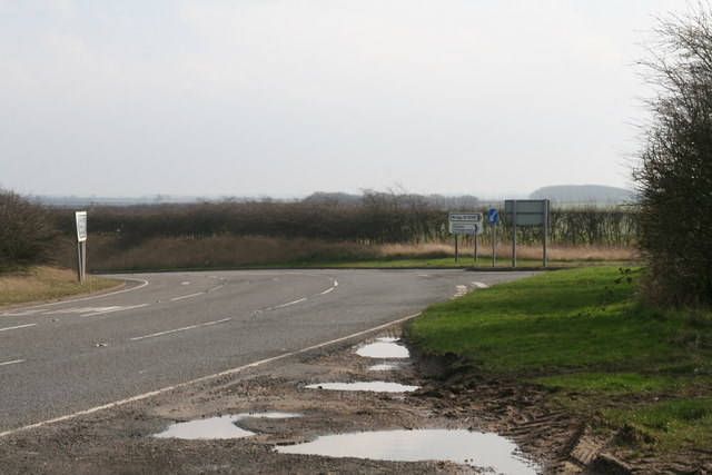 Bonby turn-off from the A15