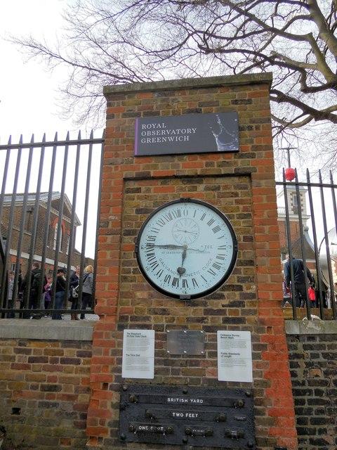 Shepherds Gate Clock Royal Observatory, Greenwich