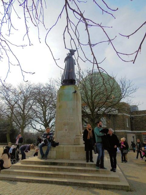 James Wolfe Statue, Greenwich Park