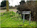 TG3200 : Loddon Road sign by Adrian Cable