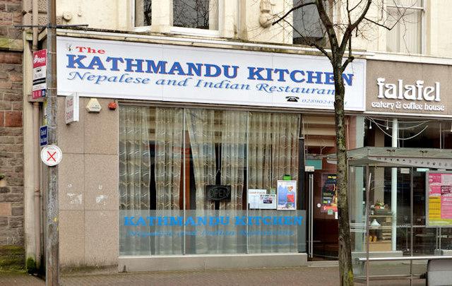 Nepalese restaurant, Belfast