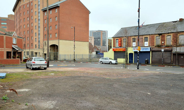 Vacant site, Sandy Row, Belfast - March 2014(1)