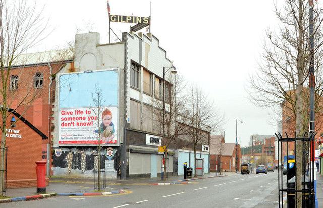 "Former ""Gilpin's"", Sandy Row, Belfast"
