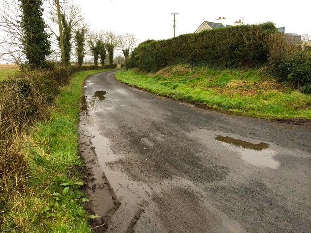 Derrycrow Road, Derryinver
