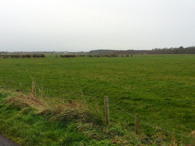 Flat landscape at Derryinver