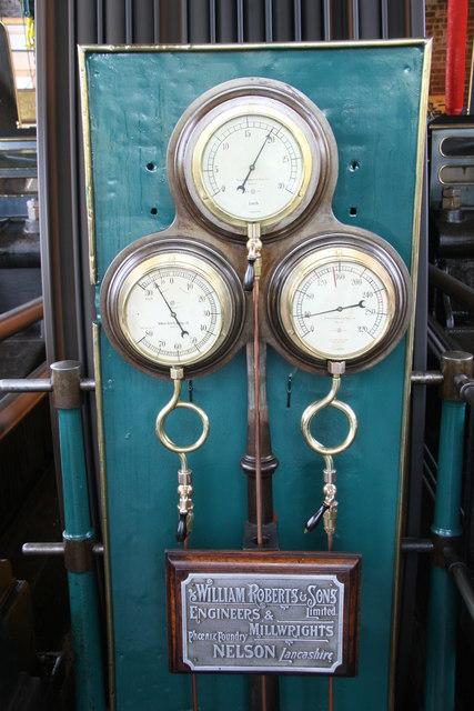 Bancroft Mill - steam engine