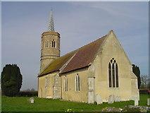 TM1582 : Shimpling St George's church by Adrian S Pye