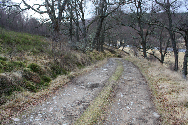 Track south of the River Findhorn