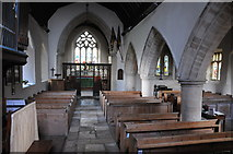 SO9700 : Interior of Coates church by Philip Halling