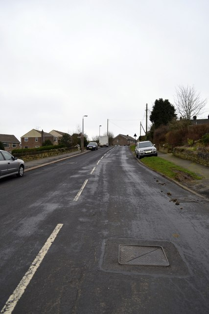 Tour de France 2014 Route - Haggstones Road and Church Street Corner, Oughtibridge - 1