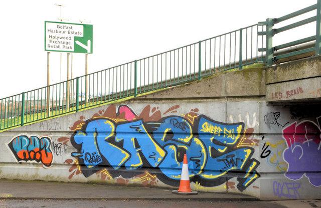 Graffiti, Tillysburn, Belfast - March 2014(1)