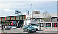 TQ3186 : Seven Sisters Road at Finsbury Park Station by Ben Brooksbank