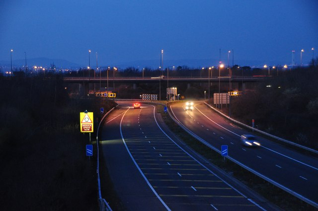 South Gloucestershire : The M49 Motorway