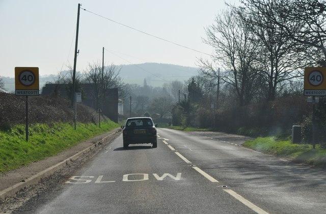 Mid Devon : The B3181