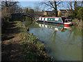 SP4813 : Canal boat, Kidlington by Alan Hunt