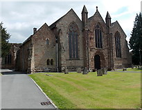 SO7137 : West side of St Michael and All Angels church, Ledbury by Jaggery