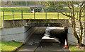 J3876 : Cycle lanes and subways, Sydenham bypass, Tillysburn, Belfast - March 2014(7) by Albert Bridge