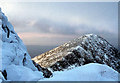 NN0630 : Stob Dearg from the main peak by Alan Reid