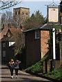 TL1406 : Abbey Mill Lane by Stephen Craven