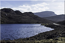 NG7655 : Loch na Creige by Peter Moore