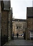 SK8608 : Oakham School gateway by Alan Murray-Rust