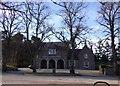 NO5298 : War Memorial Buildings, Aboyne by Stanley Howe