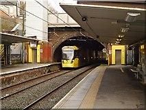 SD8203 : Metrolink Tram Leaving Heaton Park by David Dixon