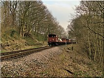 SD7914 : East Lancashire Railway near Summerseat by David Dixon