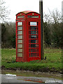TM2496 : Telephone Box on the Green by Adrian Cable