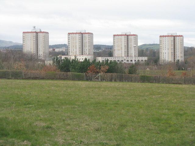 High rises at Craigour