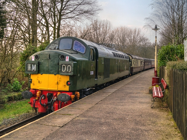 D335 at Summerseat Station