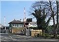 TQ5206 : Signal Box at Berwick Station by Paul Gillett