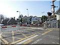 TQ5206 : Level Crossing at Berwick station by Paul Gillett