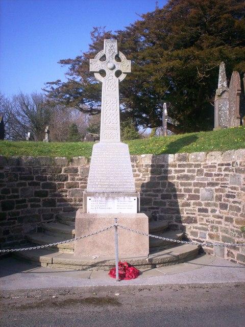 St Peter's Church, Lampeter Velfrey - War Memorial