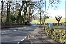 NX6280 : The A713 in St John's Town of Dalry by Billy McCrorie