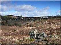 SH6737 : Argae Trawsfynydd / Trawsfynydd Dam by Ian Medcalf