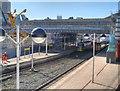 SJ8499 : Manchester Victoria, Refurbishment of Metrolink Stop by David Dixon