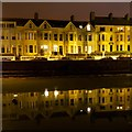 J5082 : Reflections in the 'Long Hole' Bangor by Rossographer