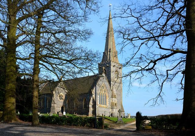 St. Matthew's Parish Church, Midgham, Berkshire