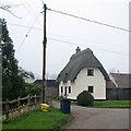 TL3545 : Dyer's Green: cottage in Bridge Street by John Sutton