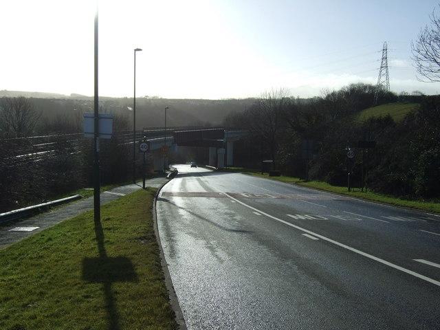 Railway bridge over Mill Bank (A174)