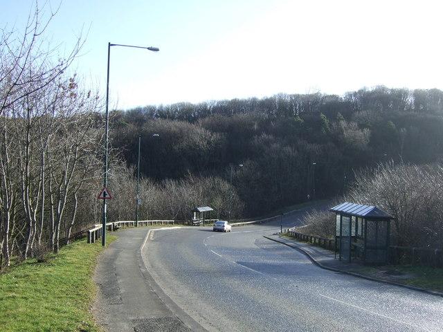 A174 towards Loftus